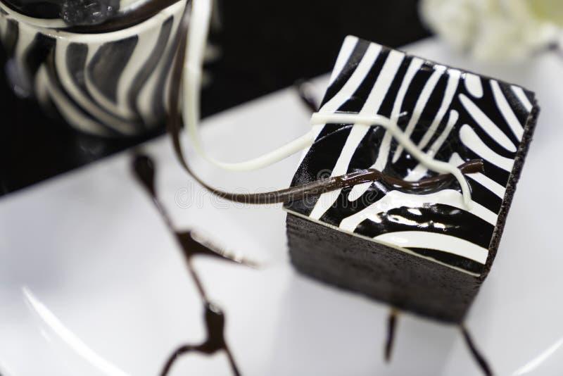 巧克力果仁巧克力点心 库存图片