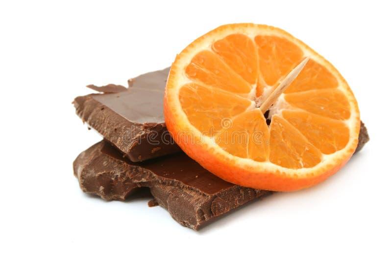 巧克力果子 免版税库存照片