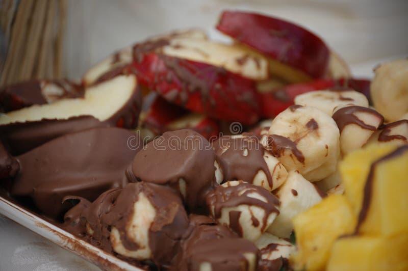 巧克力果子 库存照片