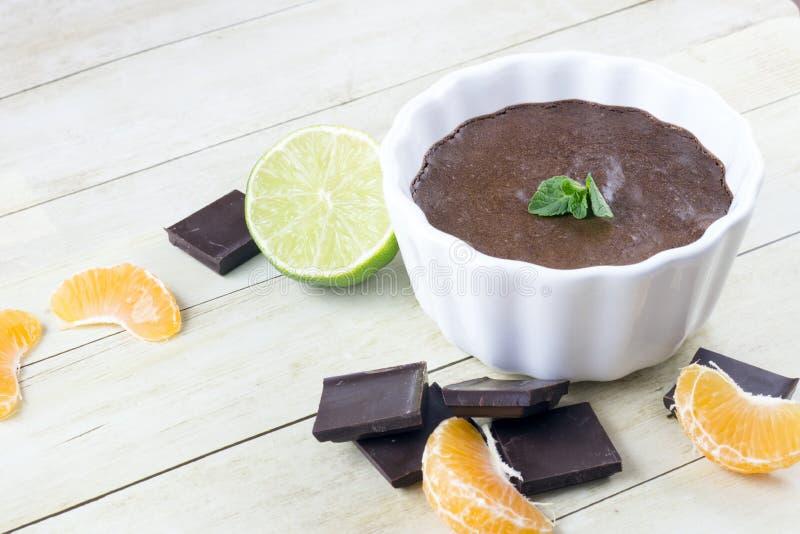 巧克力沫丝淋 免版税图库摄影