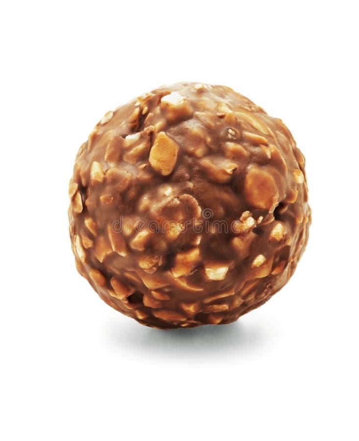 巧克力球 免版税库存照片