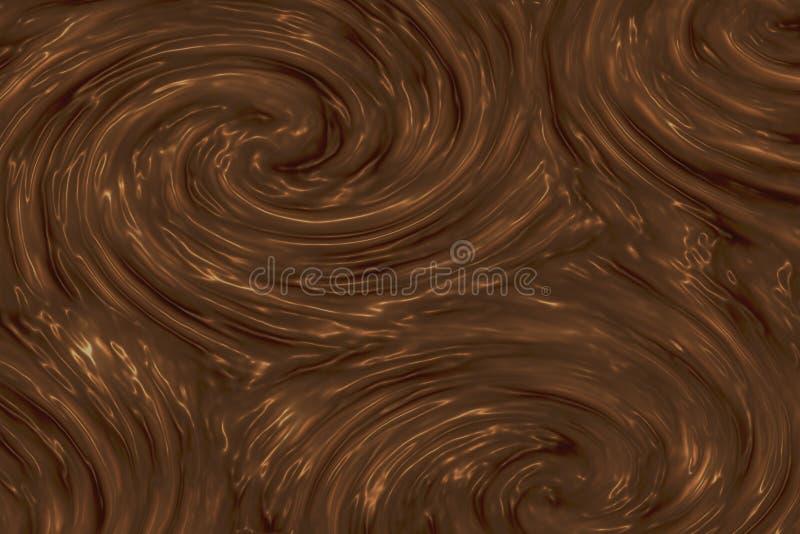 巧克力纹理 向量例证