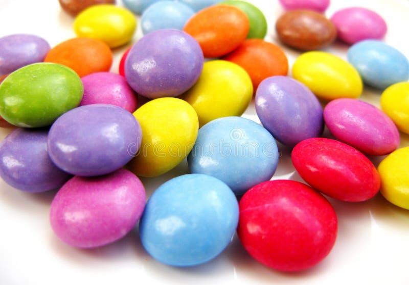 巧克力自作聪明的人 免版税库存照片
