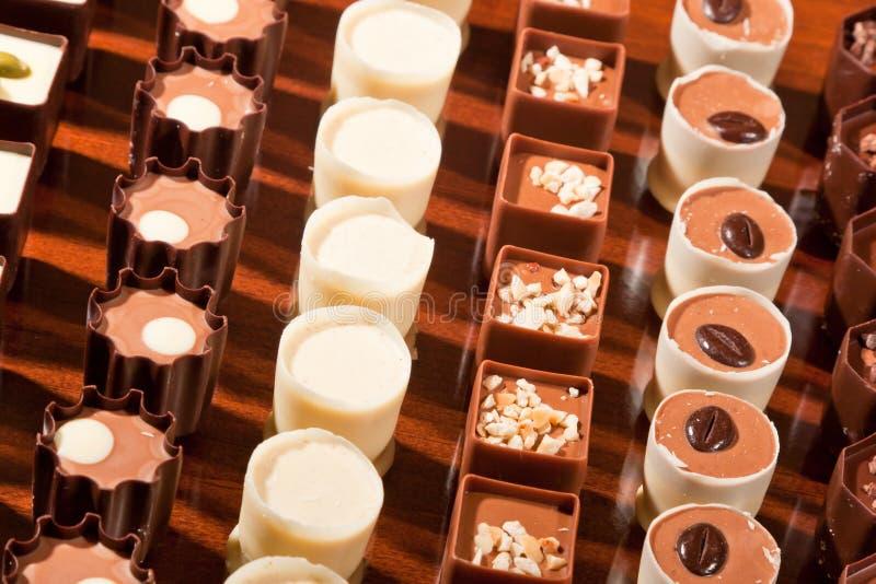 巧克力行  库存图片