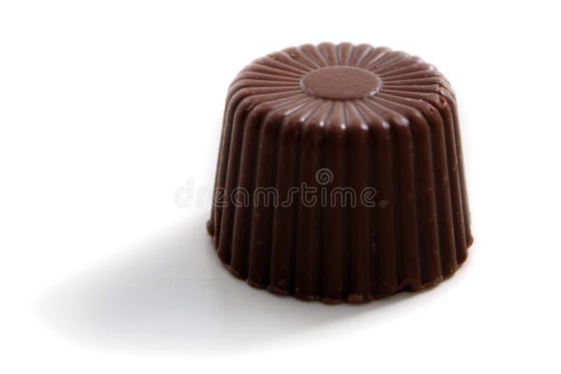 巧克力被舍入的唯一 免版税图库摄影