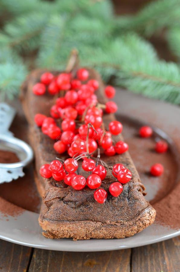 巧克力面筋释放饼 免版税库存图片