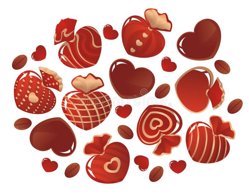 巧克力 向量例证