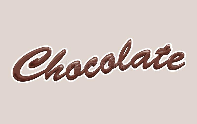巧克力 皇族释放例证