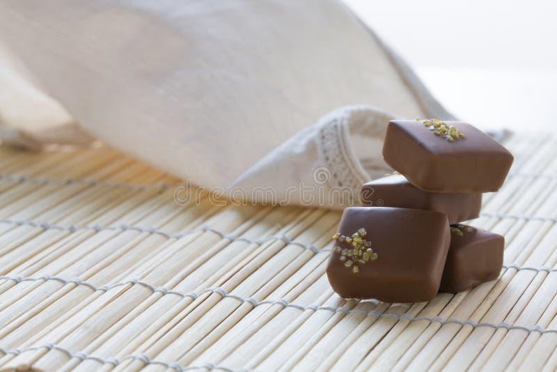 巧克力bombon 库存图片