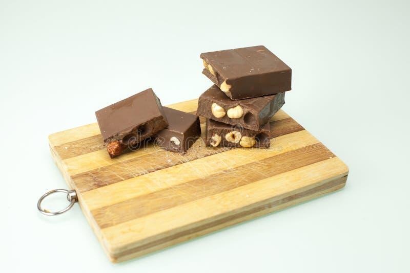 巧克力Torrone 库存照片