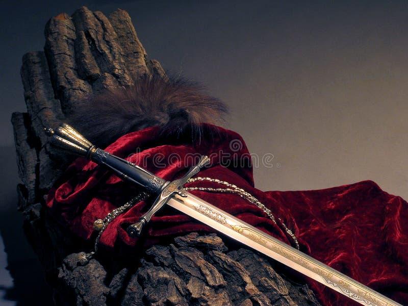 巧妙的剑 免版税库存照片