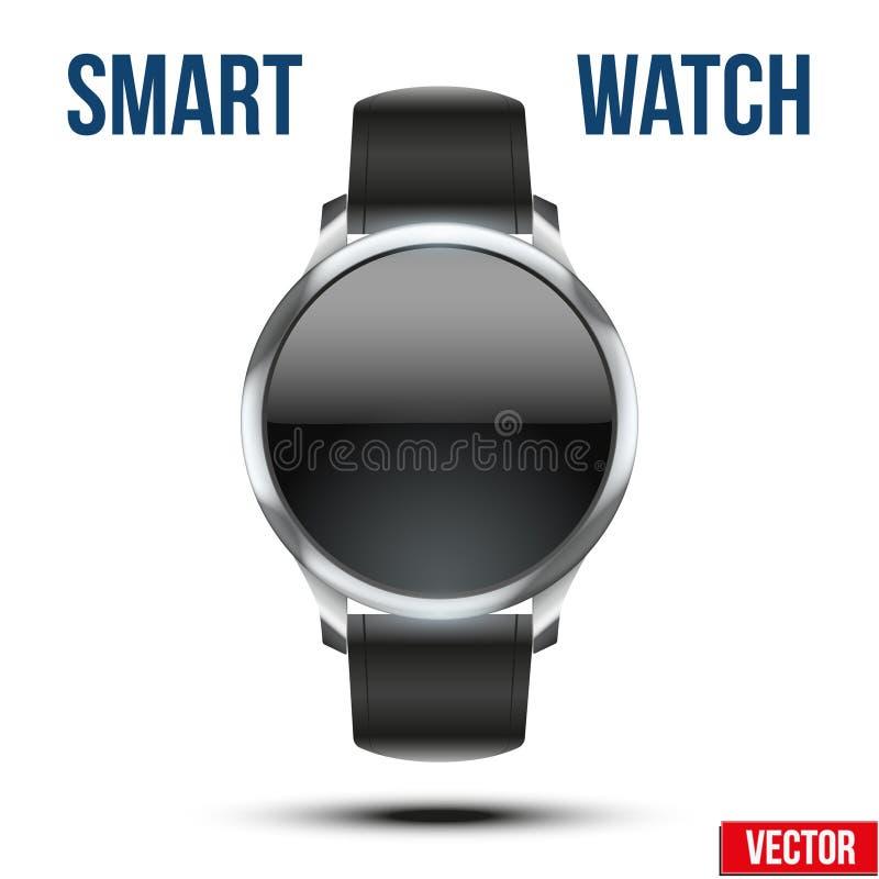 巧妙的设计例子手表 库存例证