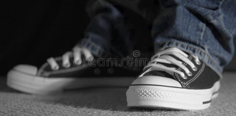 巧妙的运动鞋 库存照片