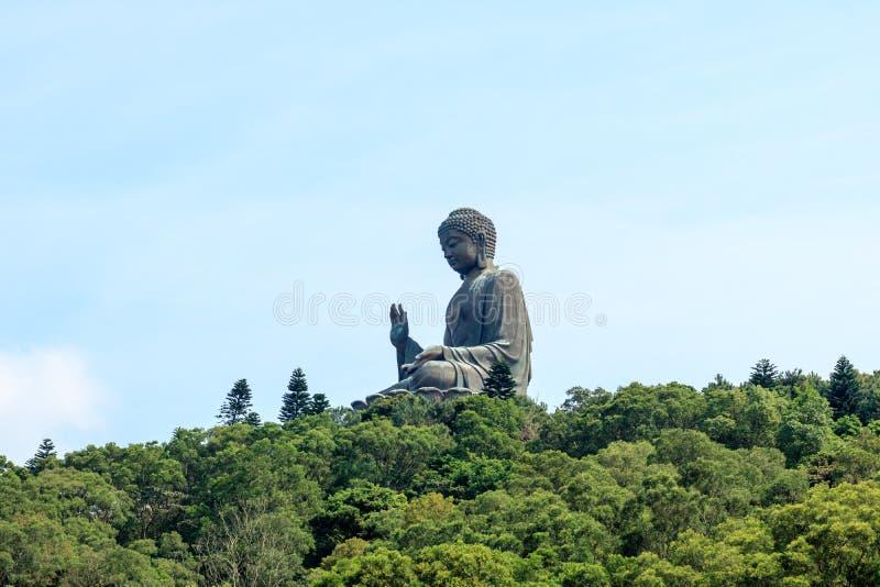 巨人菩萨statue/Po林修道院 库存照片