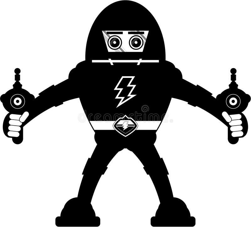 巨人Mecha机器人 皇族释放例证
