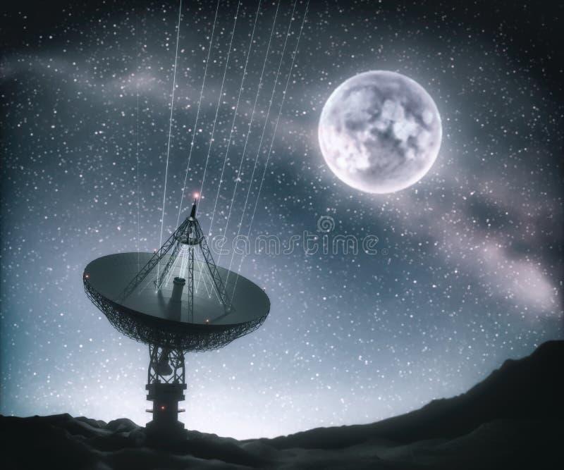 巨型天线卫星天线天线天线 库存图片