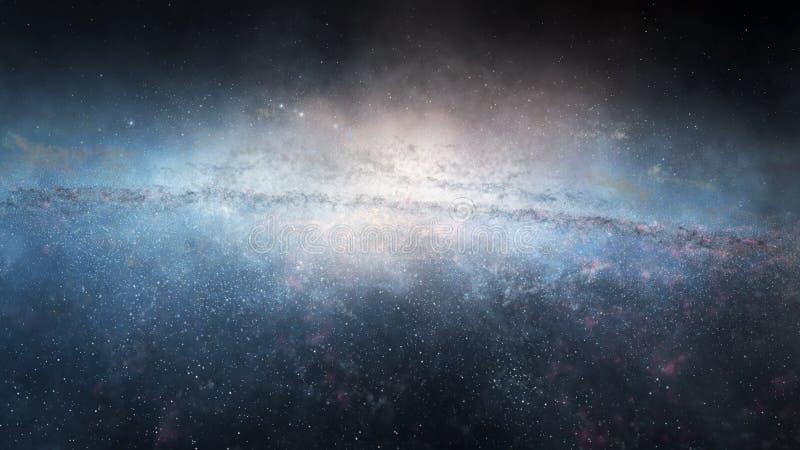 巨型星系 免版税库存照片