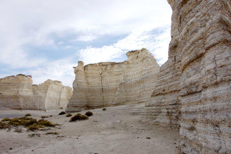 巨型独石迷宫  免版税库存照片