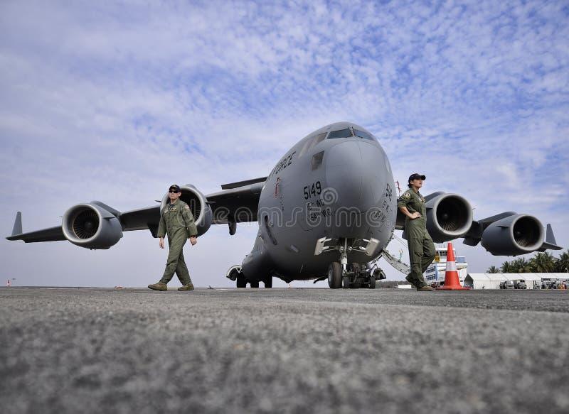 C-17 Globemaster 图库摄影