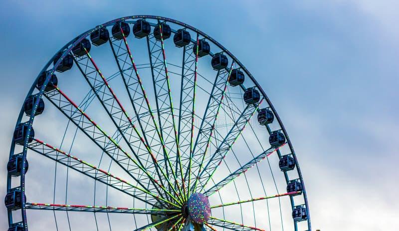 巨型轮子 免版税图库摄影