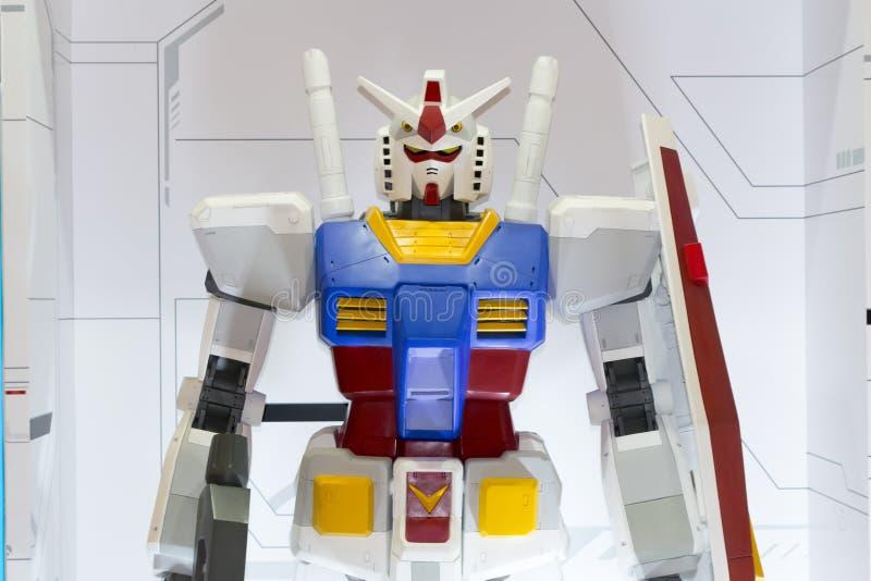 巨型gundam机器人 免版税图库摄影