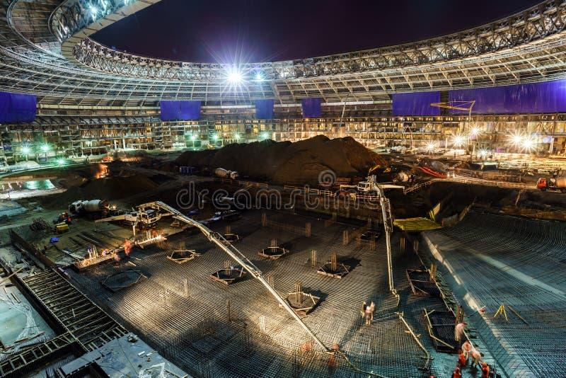 巨大体育体育场建筑 库存照片