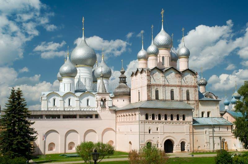 巨大克里姆林宫rostov俄国 图库摄影