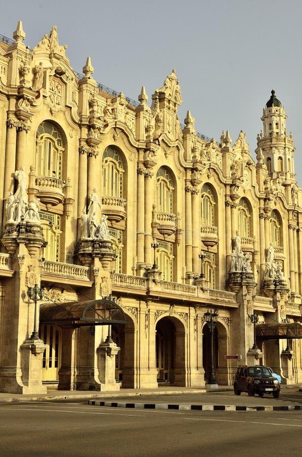 巨大剧院在古巴 免版税库存照片