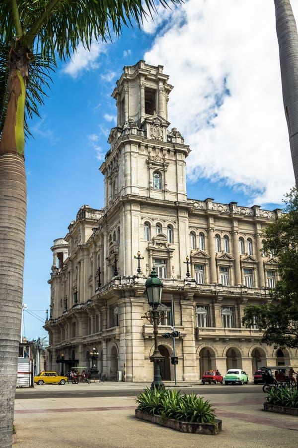 巨大剧院Gran Teatro -哈瓦那,古巴 免版税库存图片