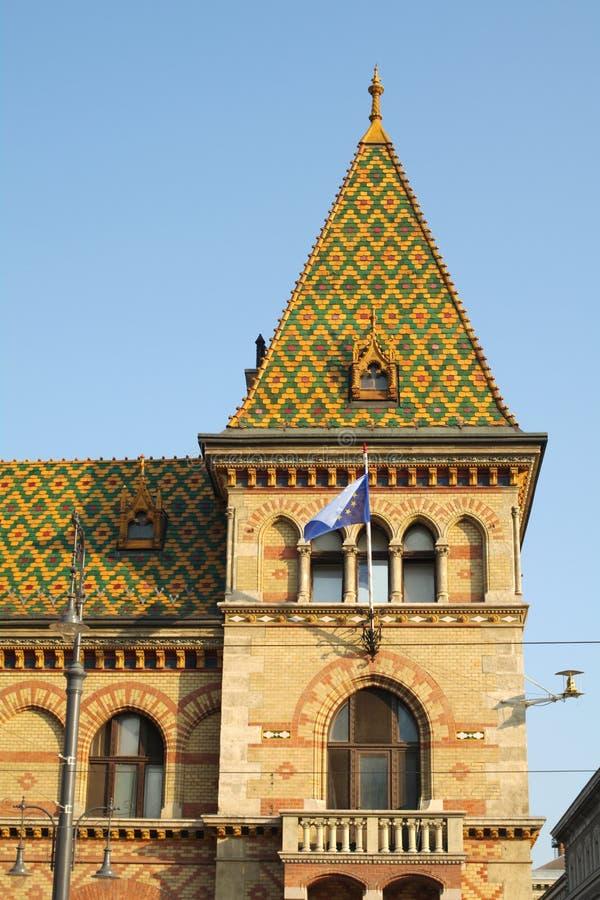 巨大市场霍尔/布达佩斯 免版税库存照片