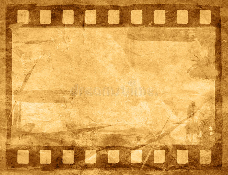 巨大影片小条 皇族释放例证