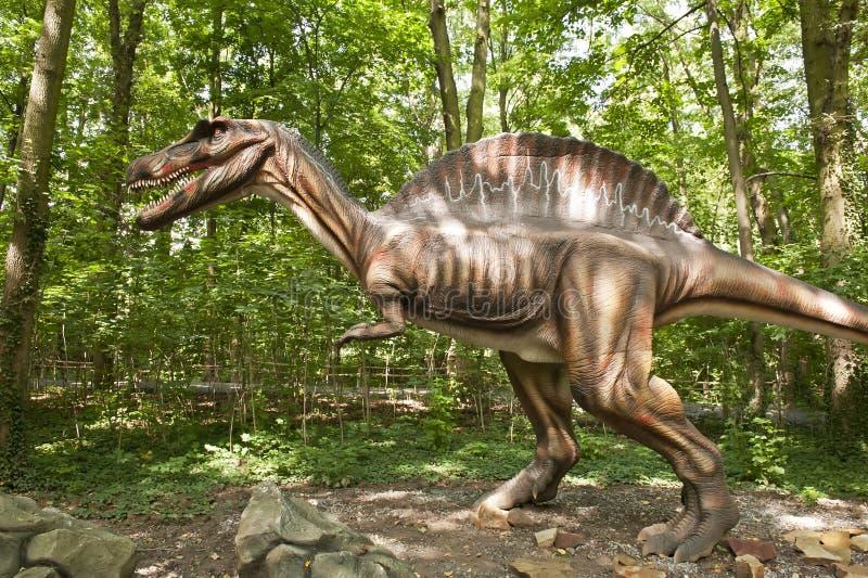 巨大的恐龙 免版税库存图片