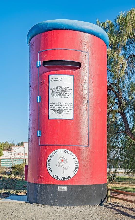 巨大的邮箱在Calvinia 免版税库存照片