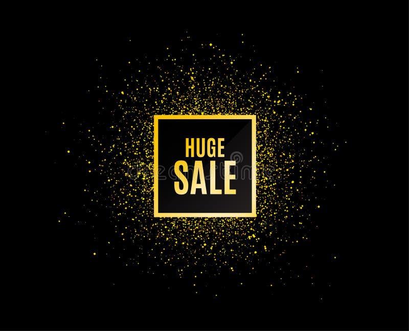 巨大的销售额 特价优待价格标志 向量 向量例证