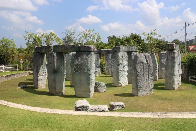 巨石阵在泰国 库存图片