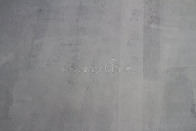 巩固与轻的白色颜色的墙壁纹理绘在他们准备好绘 免版税图库摄影