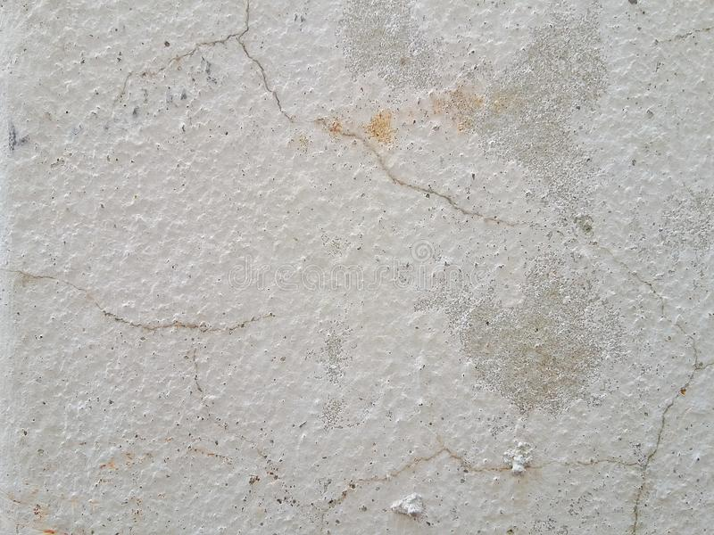 巩固老纹理白色颜色地板墙壁背景 免版税库存图片