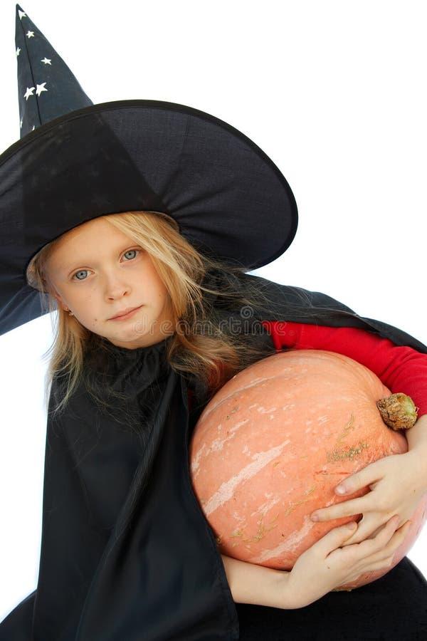 巫婆年轻人 库存照片