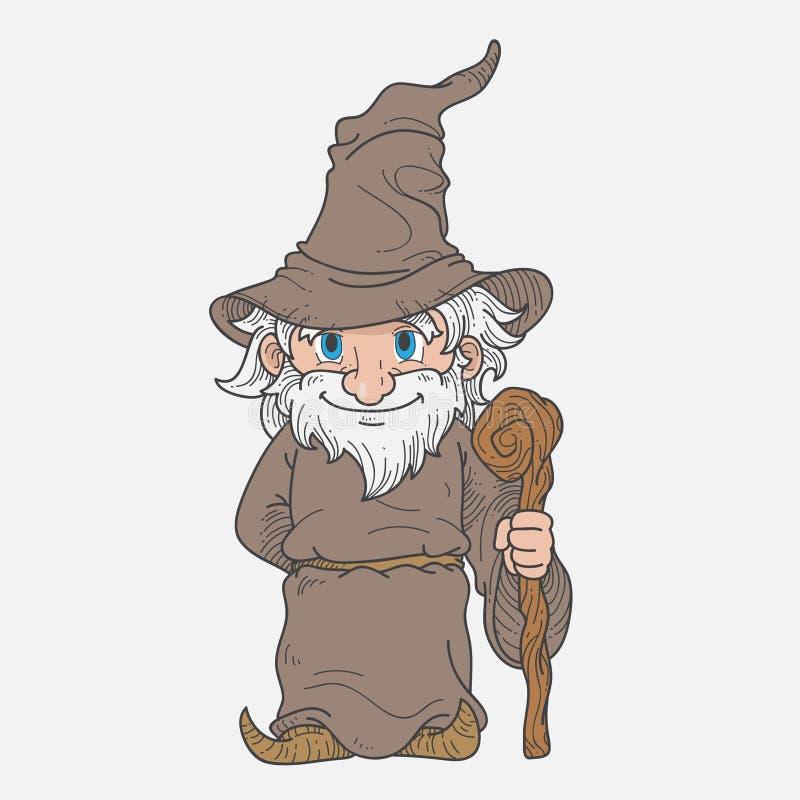 Download 巫术师吉祥人 向量例证. 插画 包括有 例证, 动画片, 现有量, 向导, beaufort, 万圣节, 服装 - 72356648