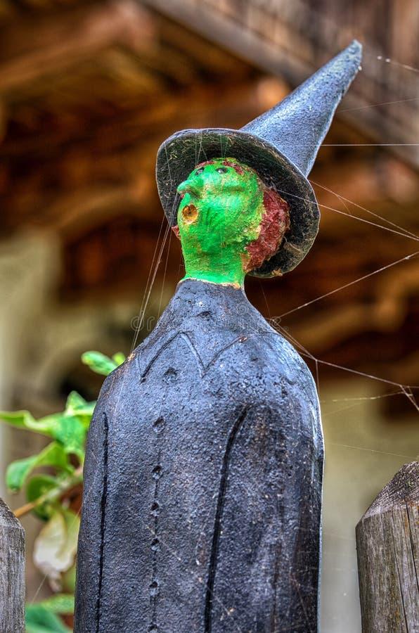 巫术师的陶瓷玩偶 免版税库存照片