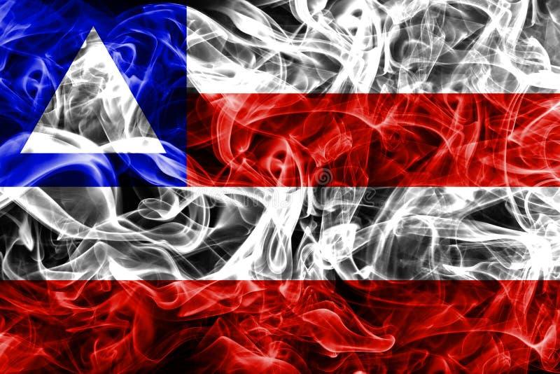 巴伊亚烟旗子,国家的巴西 皇族释放例证