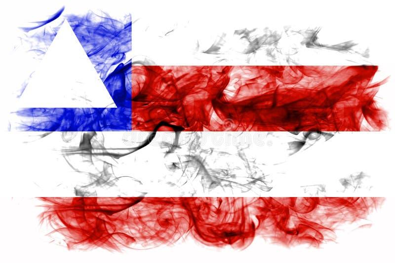 巴伊亚烟旗子,国家的巴西 向量例证