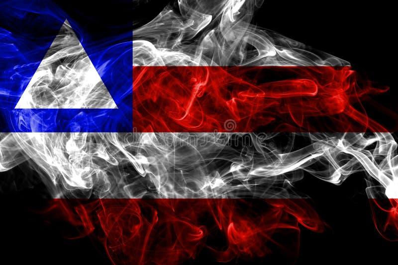 巴伊亚烟旗子,巴西的状态 库存例证