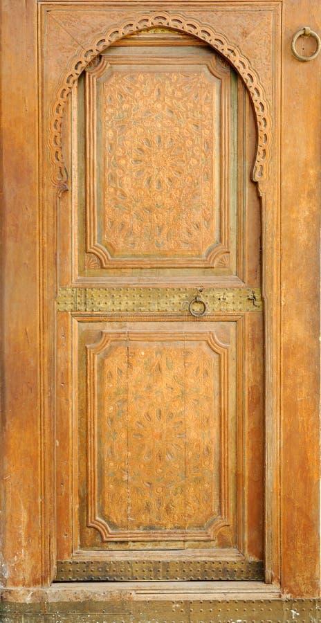 巴伊亚马拉喀什摩洛哥宫殿 库存图片