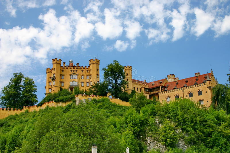 巴伐利亚城堡 库存照片