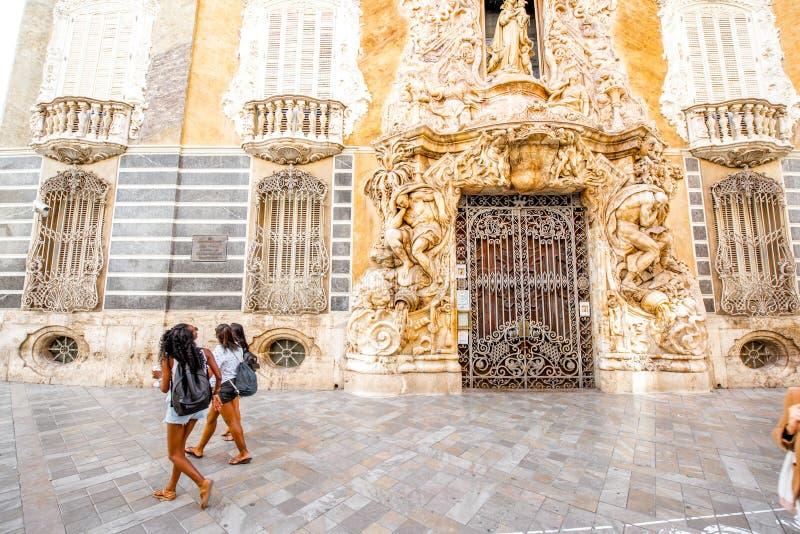 巴伦西亚市在西班牙 免版税库存图片