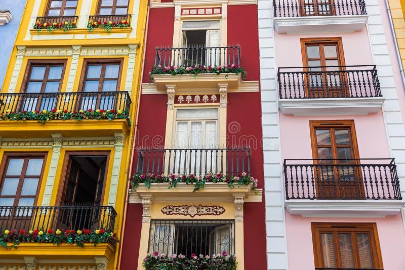 巴伦西亚西班牙结构 库存图片