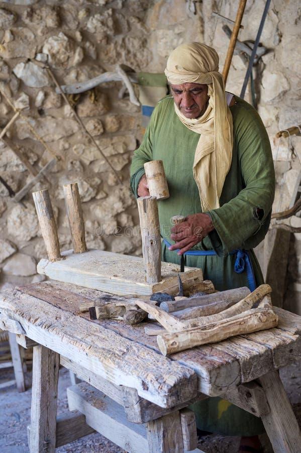 巴勒斯坦木匠 库存照片