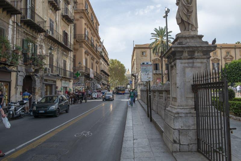 巴勒莫市,西西里岛 免版税库存图片