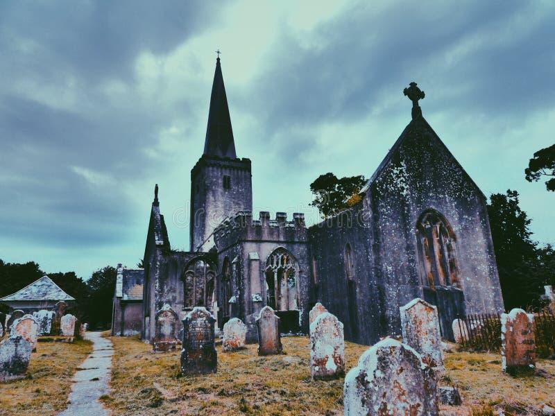巴卡斯特利教堂 免版税库存图片